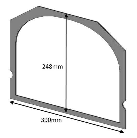 ch06017_glass_gasket_single_door_slim_5_inset_5_7_consort_7