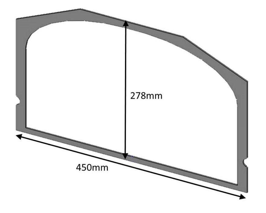 ch08027_glass_gasket_single_door_consort_9_slimline_9_15