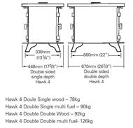 hawk 4 double sided dimensions