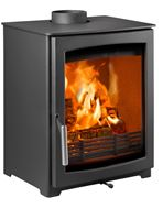 Parkray Aspect 5 wood stove view from Side