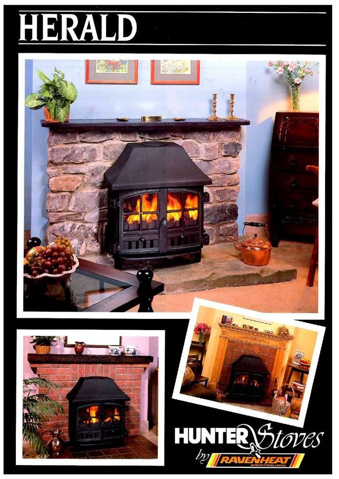 Old Herald Stove Brochure