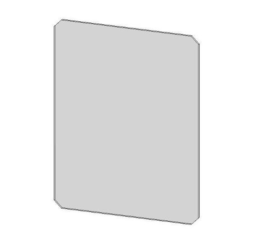 Picture of Glass Panel - Aspect 4 Compact (Plain)