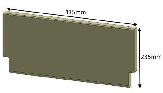 Picture of Brick - Baffle (non Eco)