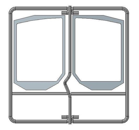 Picture of Rope Seal Kit - Double Door (Shaped glass)