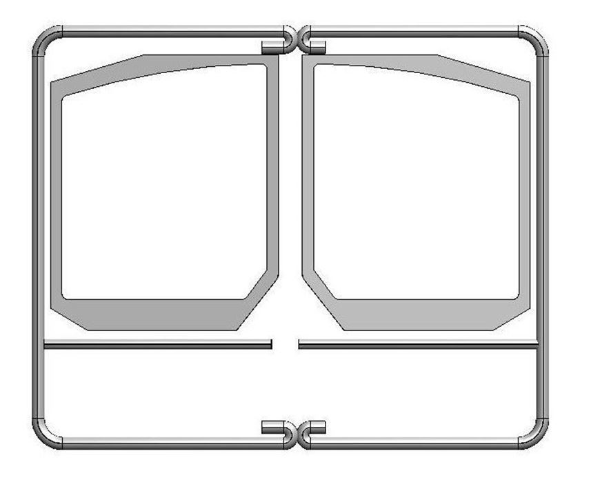 Picture of Rope Seal Kit - Double Doors (Shaped Glass)