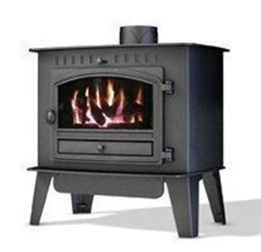 Picture of Inglenook Gas With Coal Effect