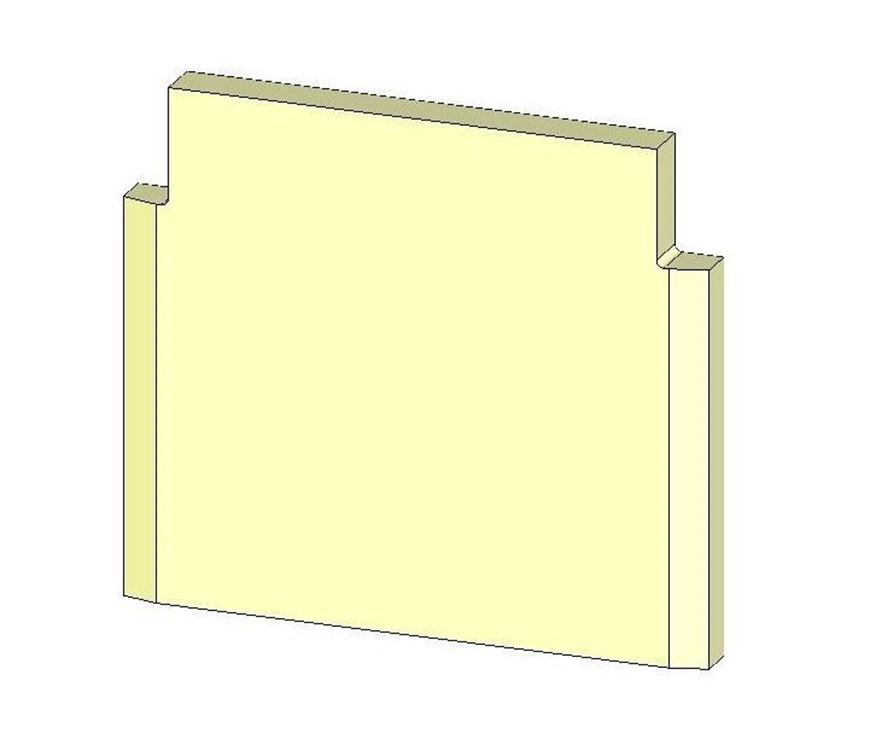 Picture of Rear Brick - Lower (MKII)