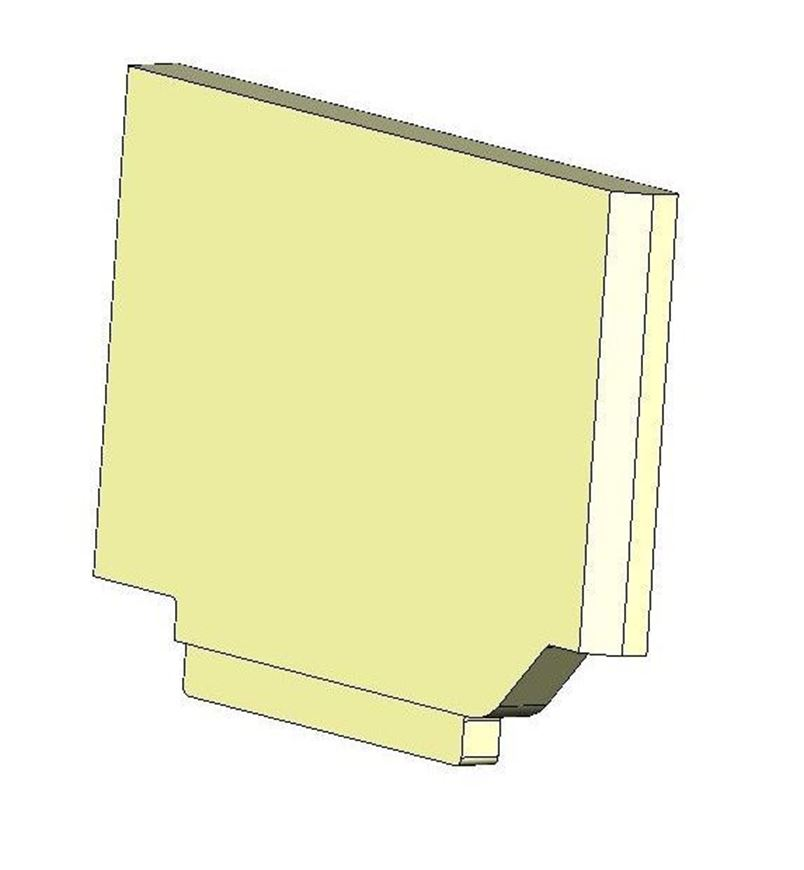 Picture of Side Brick - Right Hand Lower (MKII)