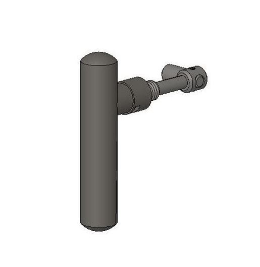 Picture of Handle Assembly - Single Door, MK2