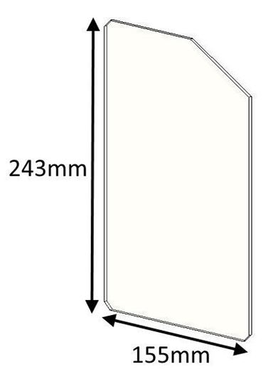 Picture of Glass - Double door