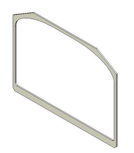 Picture of Glass Gasket (Single door)