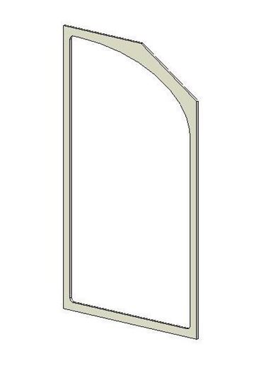 Picture of Glass Gasket (Double Door)