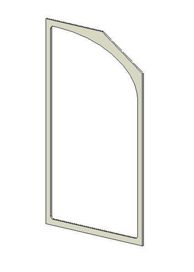 Picture of Glass Gasket (Double Door)