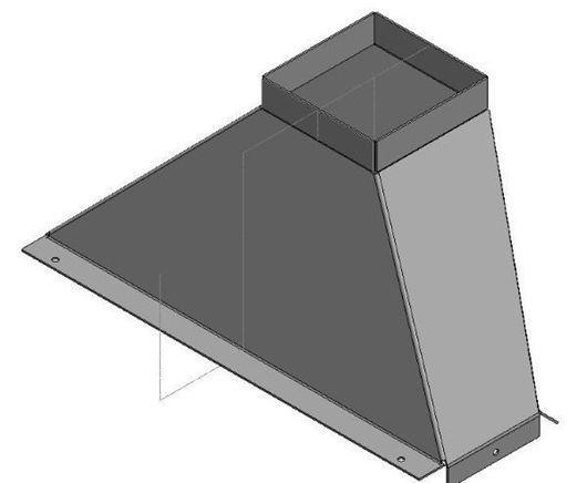 Picture of Flue Gather - Staggered - 700 Extra