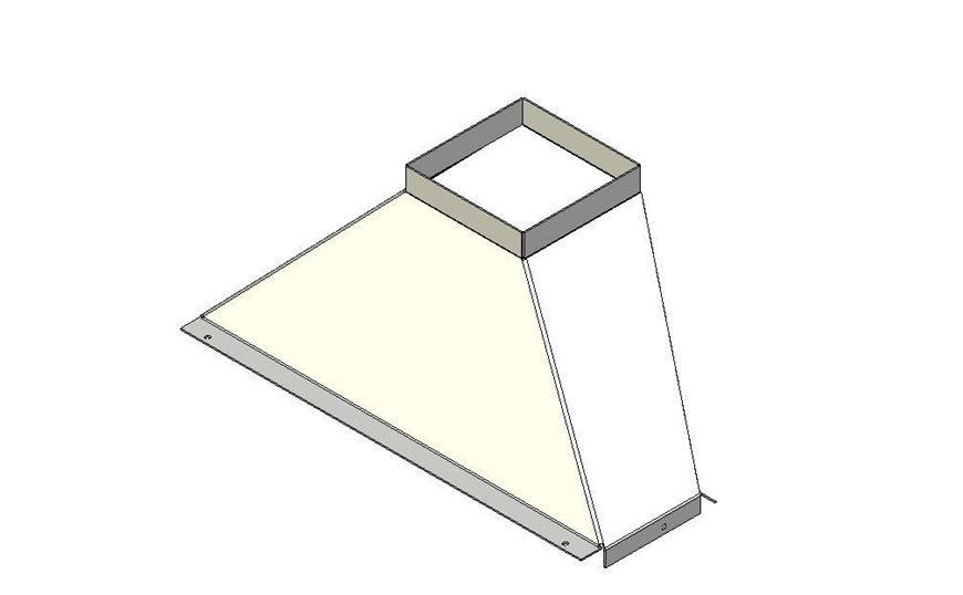 Picture of Flue Gather - Staggered - 850 Extra