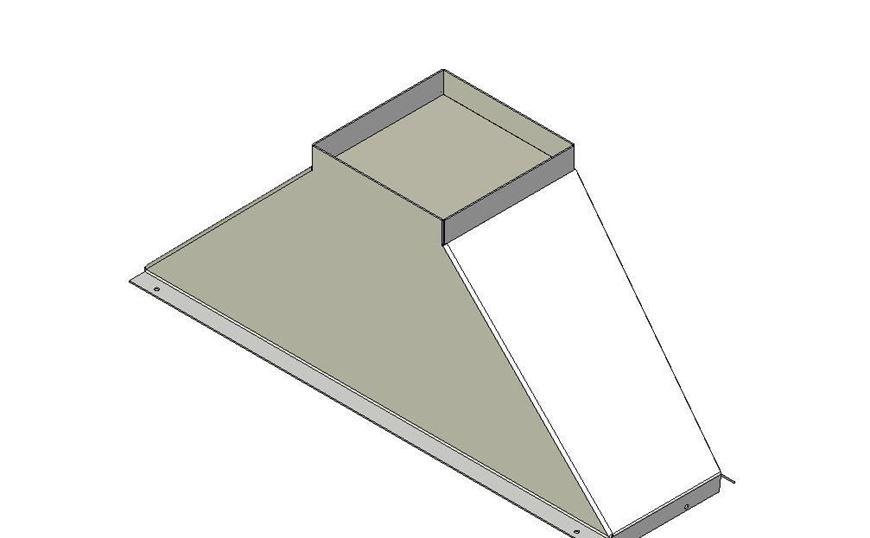 Picture of Flue Gather - Straight - 1050