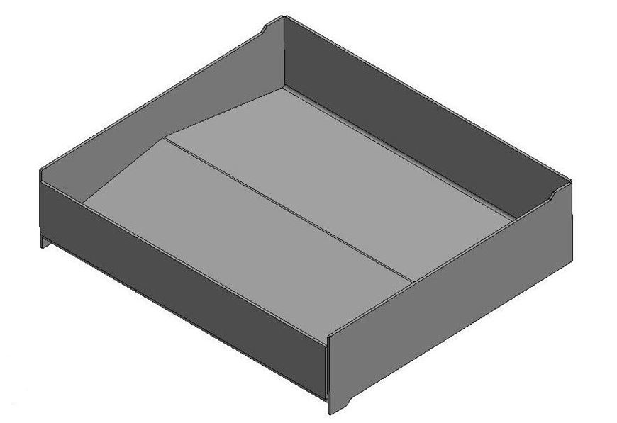 """Picture of Wood Tray - 16"""" Standard"""