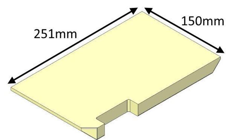 Picture of Base Brick, Right Hand - Di Lusso R4
