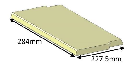 Picture of Baffle Brick