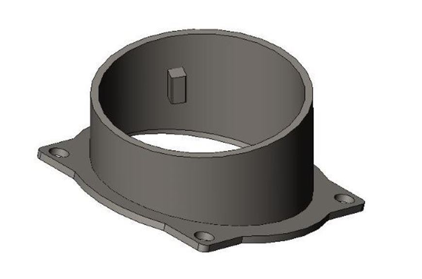 Picture of Flue Collar Assembly