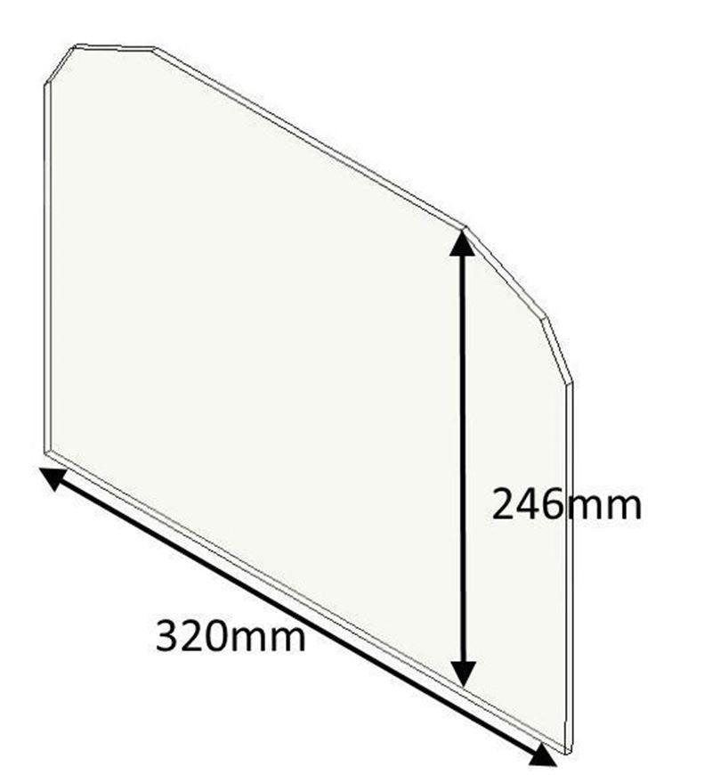 Picture of Glass - Single door