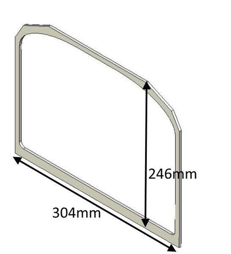 Picture of Glass Gasket (Single door)