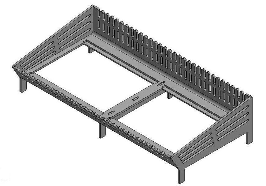 Picture of Multifuel Basket - 850 Extra, Standard