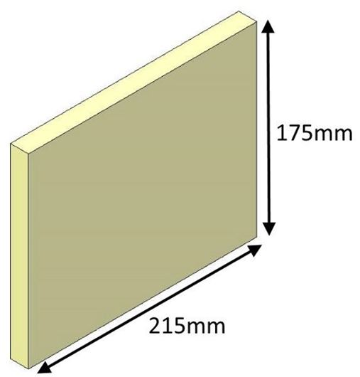 Picture of Side Brick - Inset 16i and 18i
