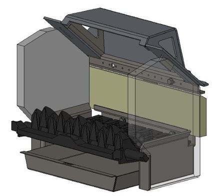 Picture for category Internal Parts for Multifuel model