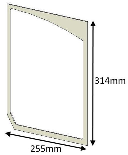 Picture of Glass Gasket (Double Door) - Herald 80B