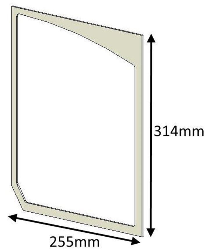 Picture of Glass Gasket (Double Door) - Herald 80B