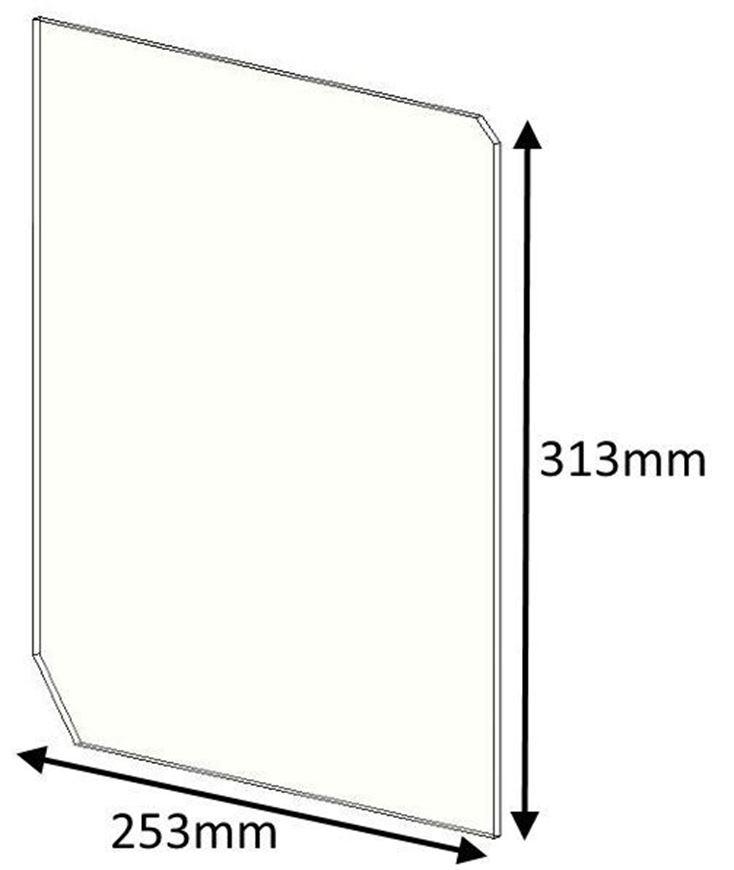 Picture of Glass - Double Doors - Herald 80B