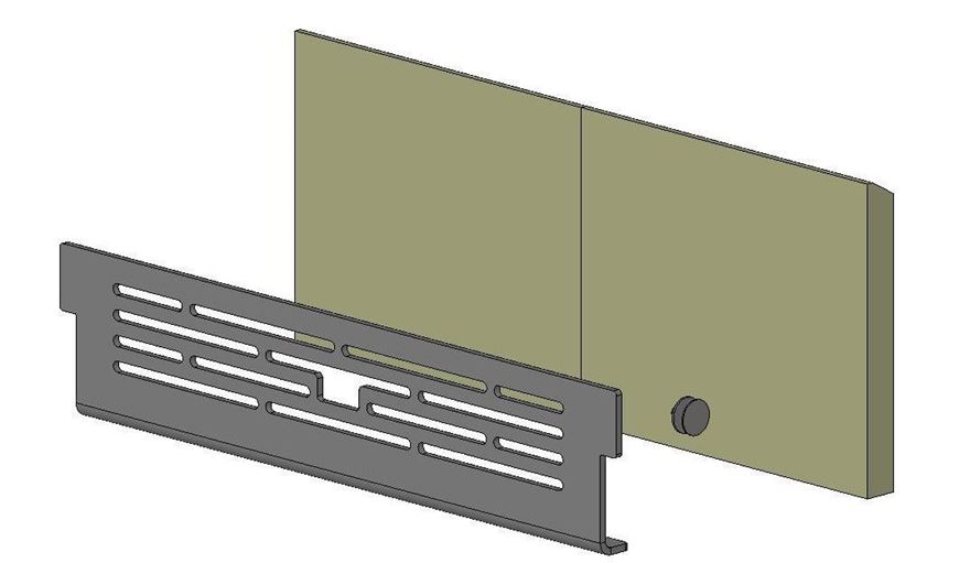 Picture of Wood Conversion Kit - Avalon 8 Slimline