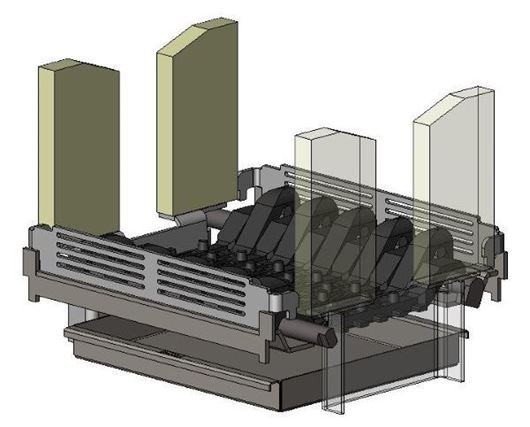 Picture of Multifuel Conversion Kit - Avalon 4 Double sided Single depth