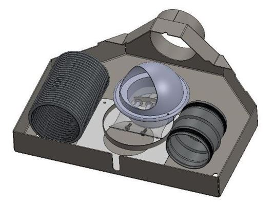 Picture of External air kit - Aspect 4 & Aspect 4 Compact