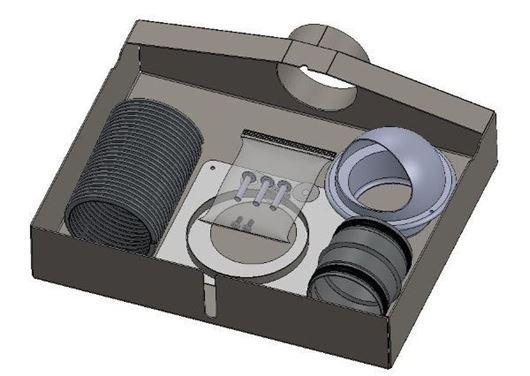 Picture of External air kit - Aspect 5 Slimline