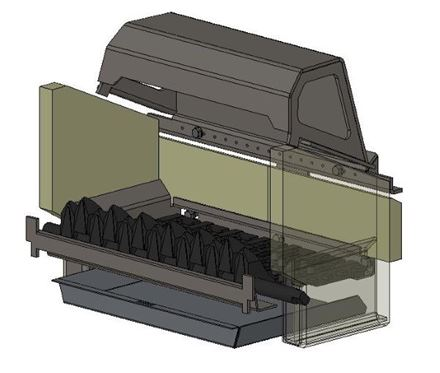 Picture for category Internal Parts for Herald 6 Multifuel model