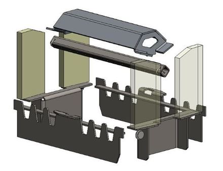 Picture for category Internal parts for Herald 6 D/S Wood model