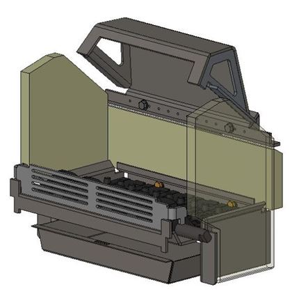 Picture for category Internal Parts for Avalon 5 Compact Multifuel model