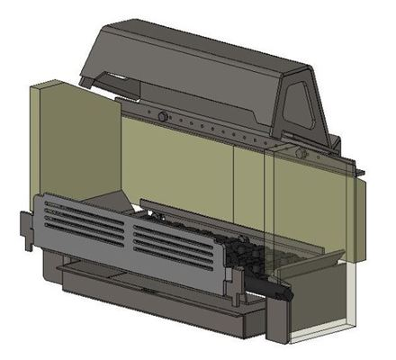 Picture for category Internal Parts for Avalon 5 Slimline Multifuel model