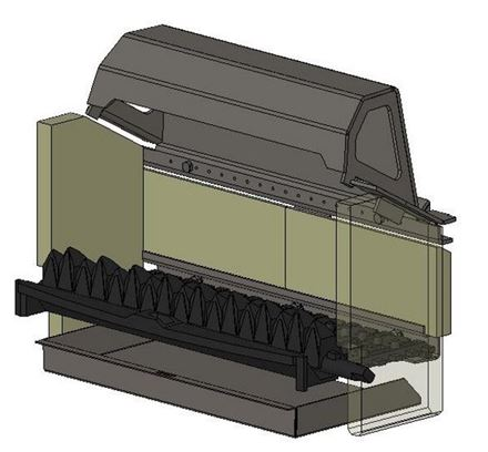 Picture for category Internal Parts for Herald 8 Slimline Multifuel model