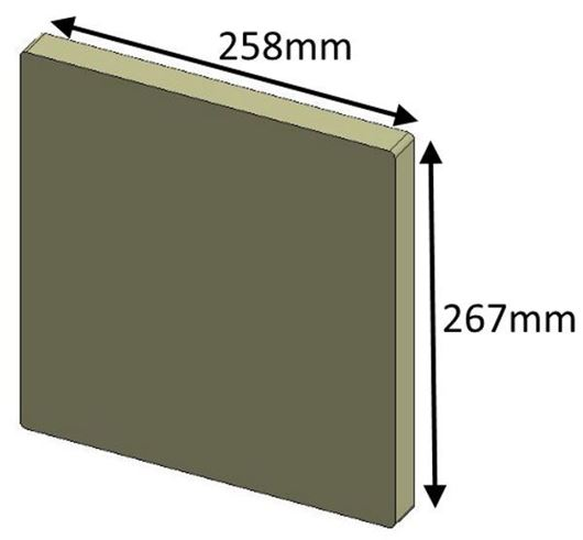 Picture of Rear Brick - Inset 60i