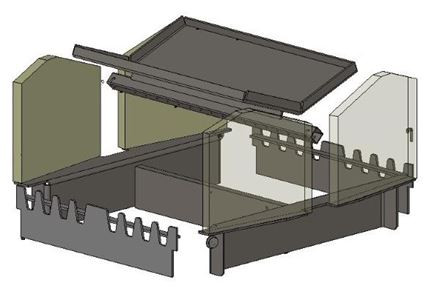 Picture for category Internal Parts for Herald 14 D/D Wood Model