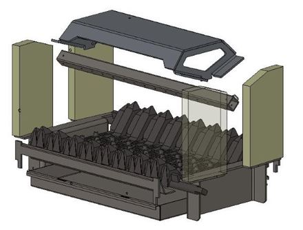 Picture for category Internal Parts for Herald 14 D/S Multifuel model