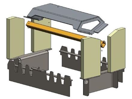 Picture for category Internal Parts for Herald 14 D/S Wood Model