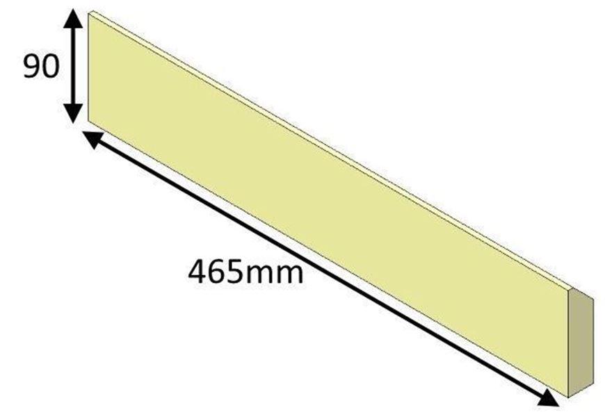 HMR05051 Rear Brick Lower