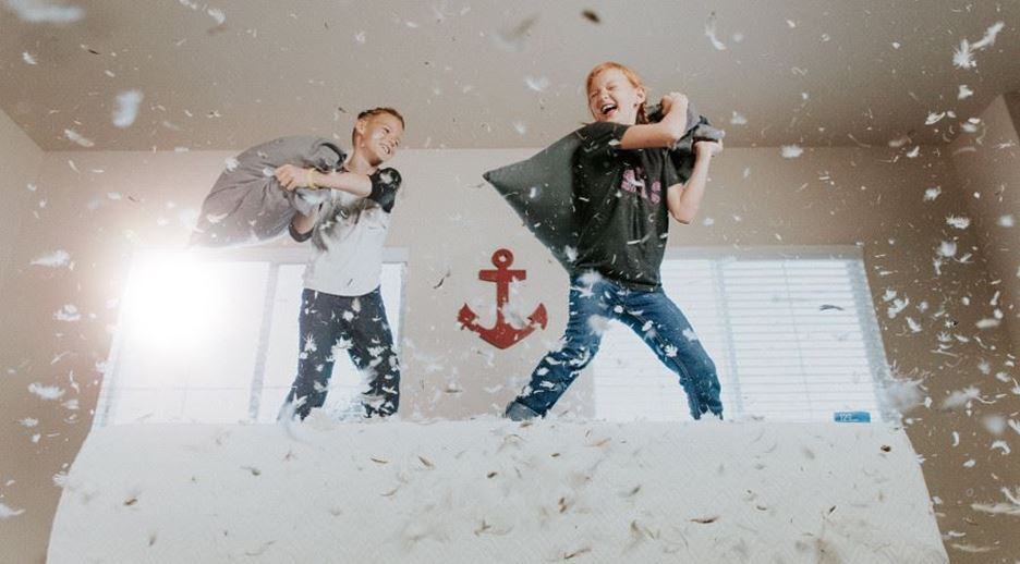 Six things to do when spending a rainy day inside with the kids