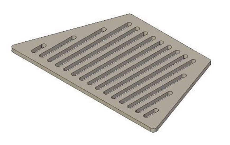 Picture of Grate - R6 Inset