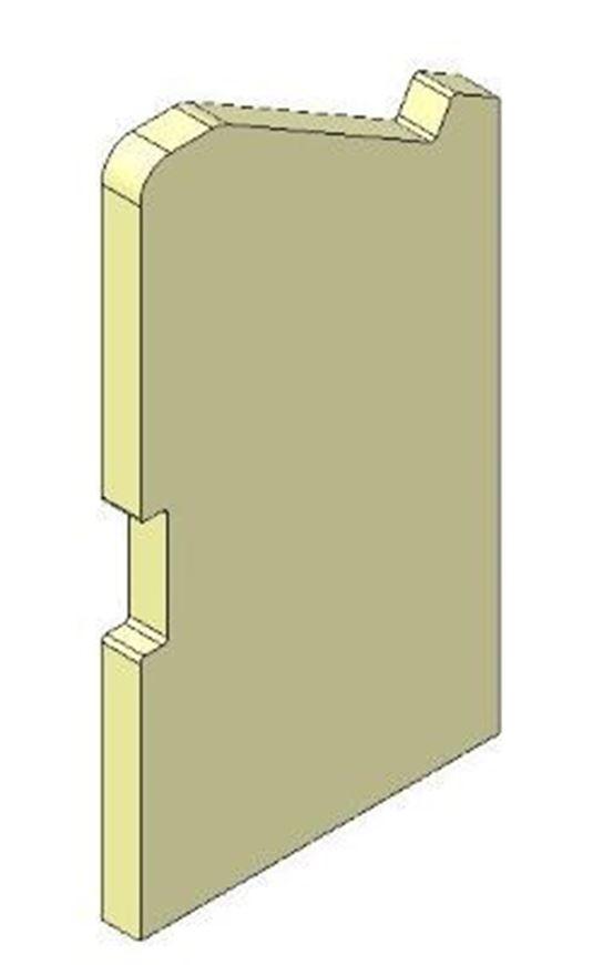 Picture of Side Brick - Left Hand (non Eco)