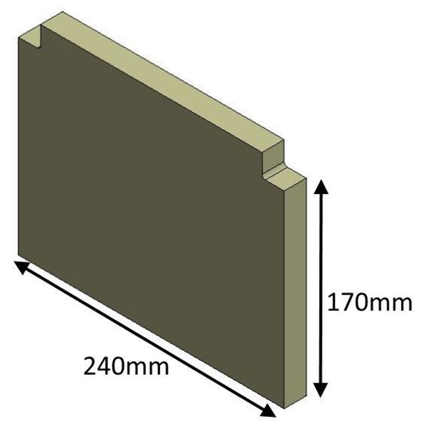 Picture of Rear Brick - Lower (MKI)